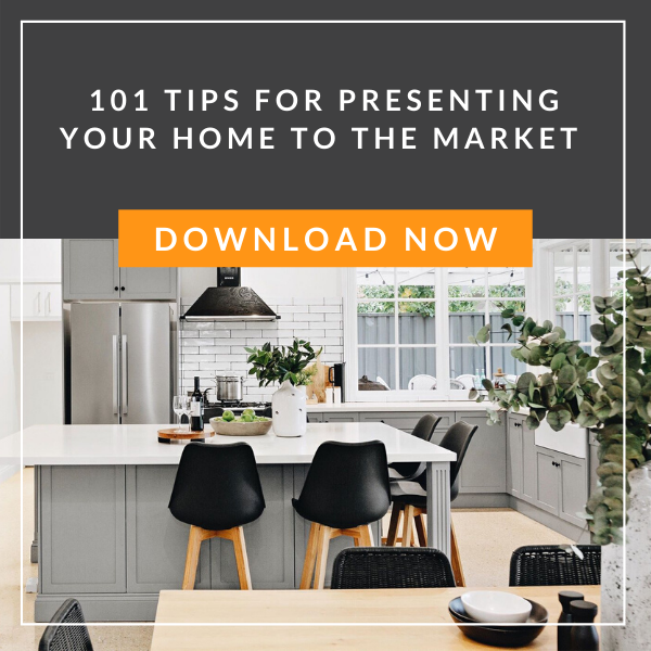 101 Tips For Presenting Your Home To The Market
