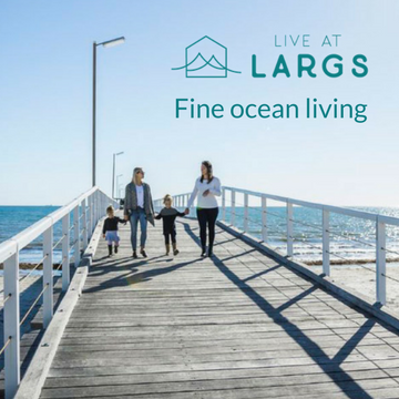 Live at Largs - Home and Land selling fast