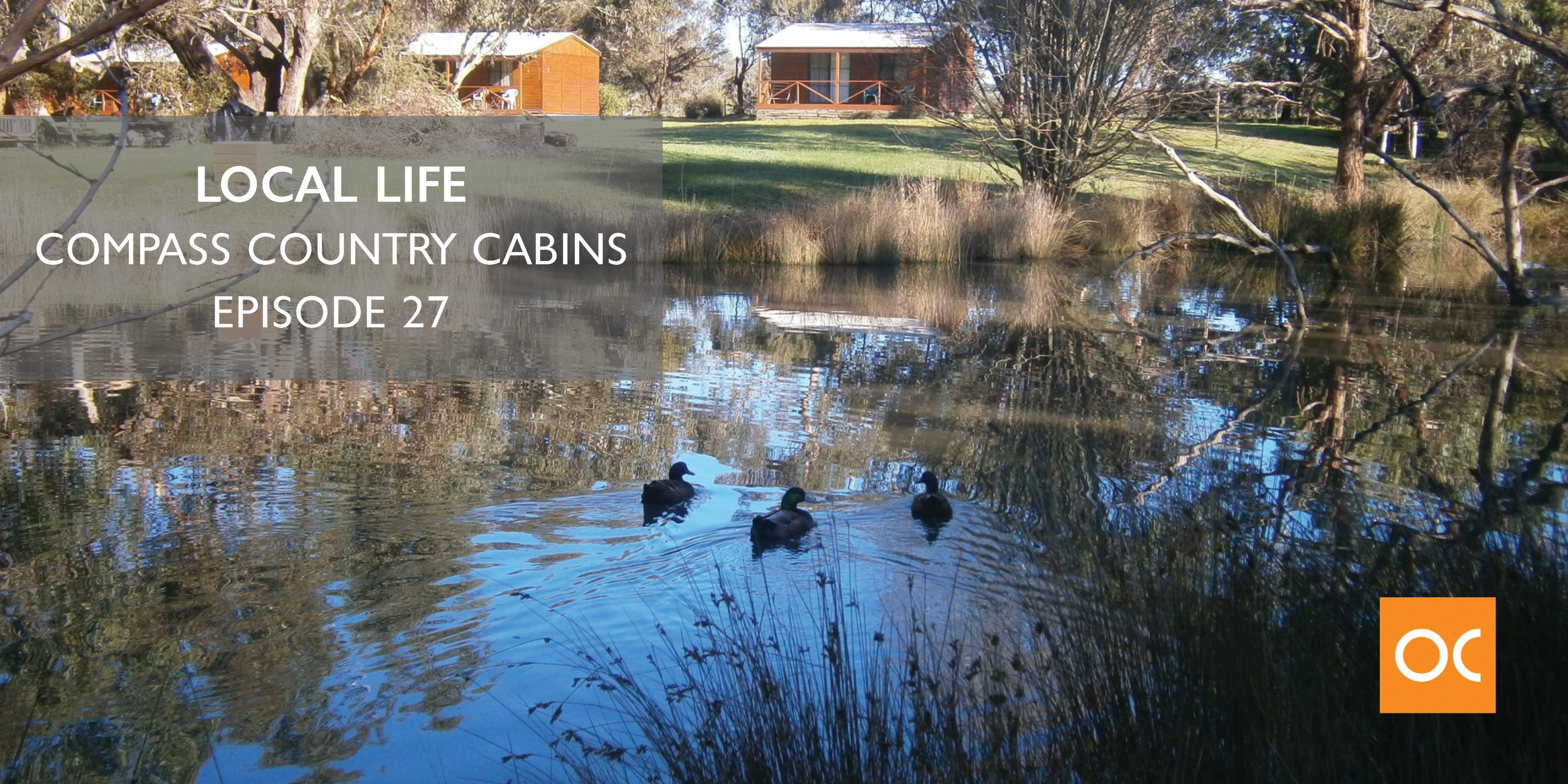Local Life - Blog feature image Compass Country Cabins Ep 27