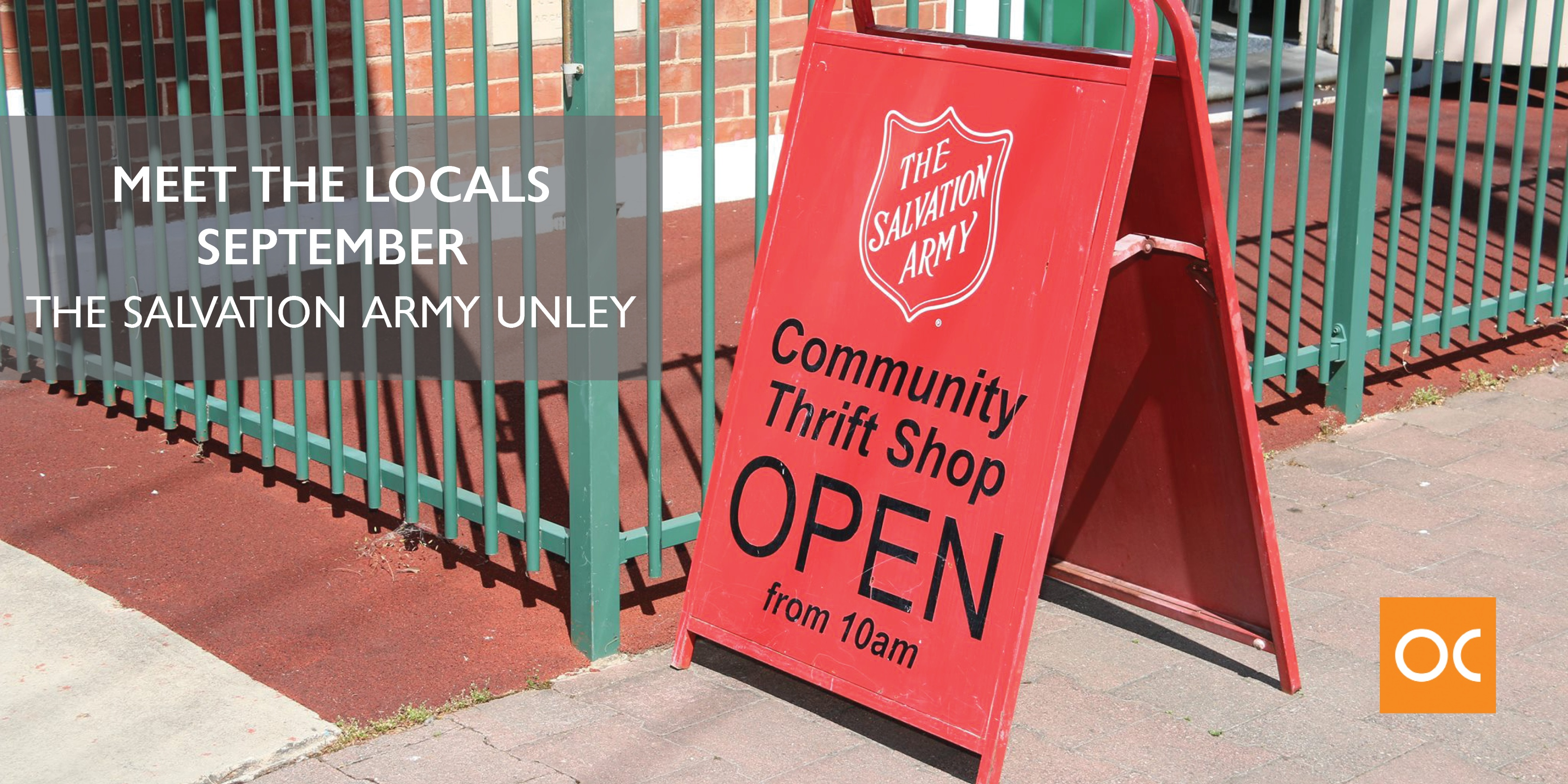 Meet the Locals - Blog feature image Salvation Army_September